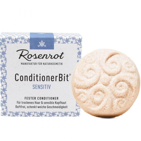 Rosenrot fester Conditioner Sensitiv Allergenfrei