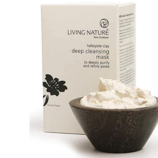 Living Nature Deep Cleansing Mask Tief wirkende Reinigungsmaske