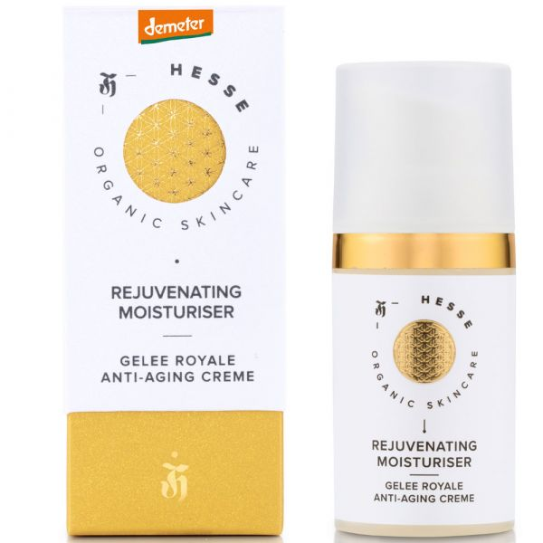 Hesse Organic Skincare REJUVENATING MOISTURISER NOURISHING & FIRMING