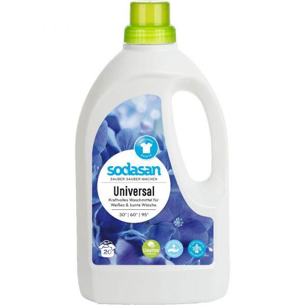 Sodasan Universal Waschmittel Limette 1,5 Liter