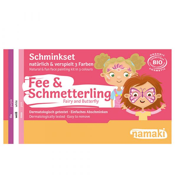 Namaki Cosmetics Schminkset Fee & Schmetterling