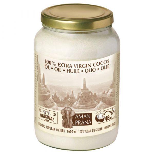 Amanprana Kokos Öl nativ extra 1,6 Liter