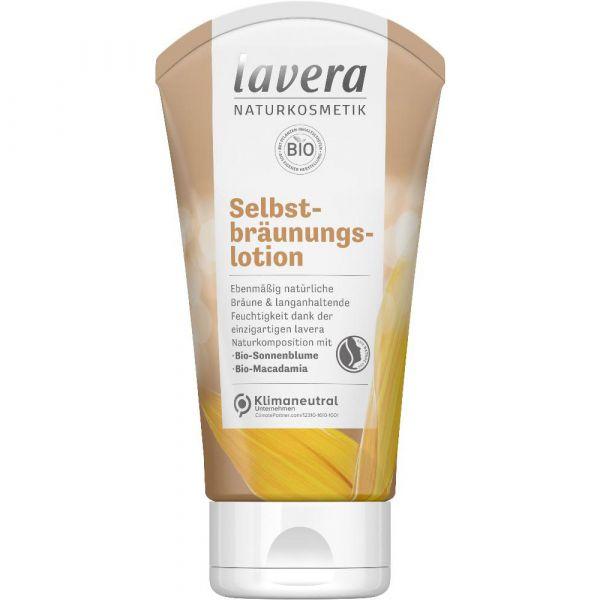 Lavera SELBSTBRÄUNUNGSLOTION Bio-Sonnenblume & Bio-Macadamia