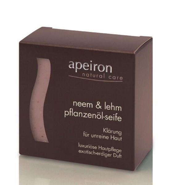 Apeiron Neem & Lehm  Pflanzenölseife