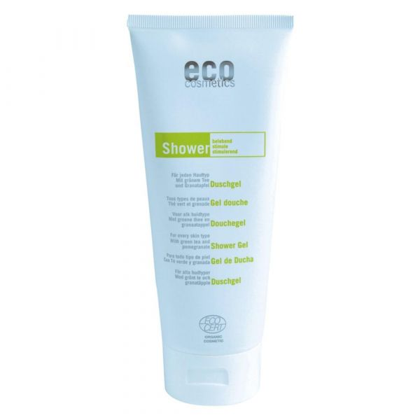 Eco Cosmetics Duschgel mit grünem Tee und Granatapfel
