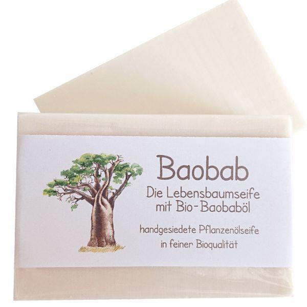 Rosenrot Bioseife Baobab Die Lebensbaumseife