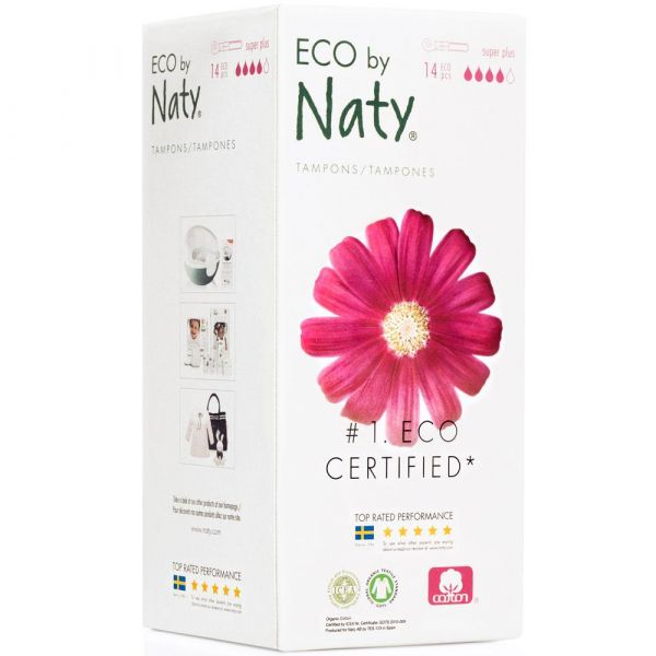 Naty Tampons super plus mit Applikator