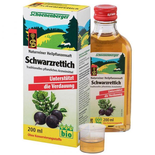 Schoenenberger Schwarzrettich-Saft