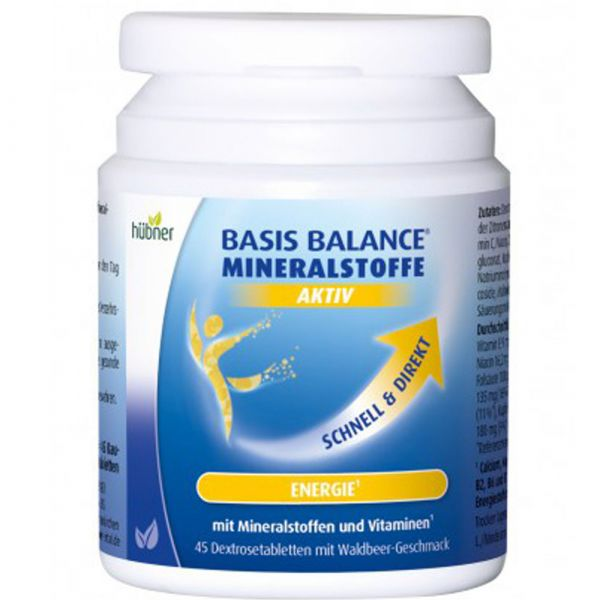 Hübner Basis Balance Mineralstoffe Aktiv Dextrosetabletten