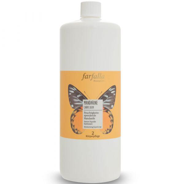 Farfalla Mandarine Carpe Diem Feuchtigkeitsspendende Handseife 1000ml