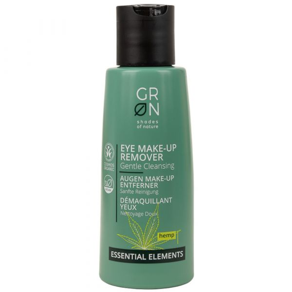 Grön Eye Make-Up Remover Hemp