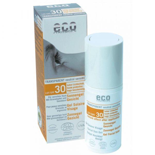 Eco Cosmetics Sonnengel Gesicht LSF 30