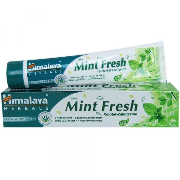 Himalaya Herbals MINT FRESH herbal toothpaste gel Kräuterzahncreme