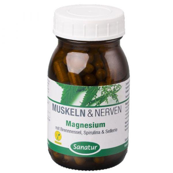 Sanatur Muskeln und Nerven Magnesium Kapseln