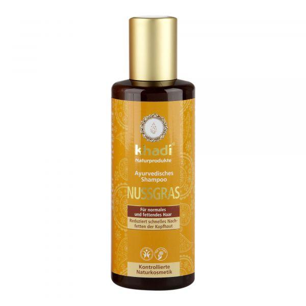 Khadi Nussgras Shampoo 210ml