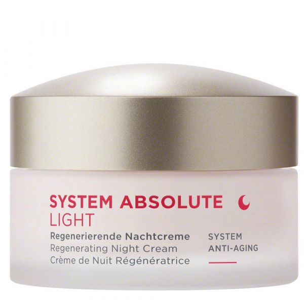ANNEMARIE BÖRLIND SYSTEM ABSOLUTE Anti-Aging Regenerierende Nachtcreme light