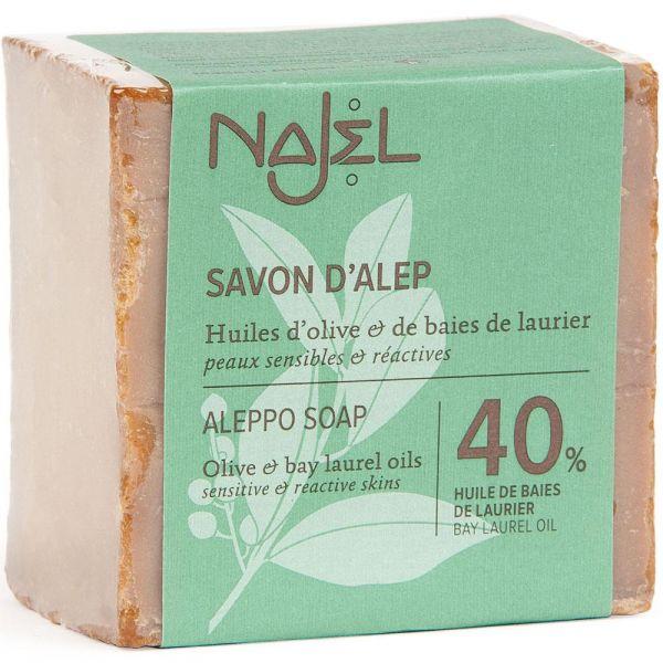 Najel Aleppo-Seife 40% Lorbeeröl
