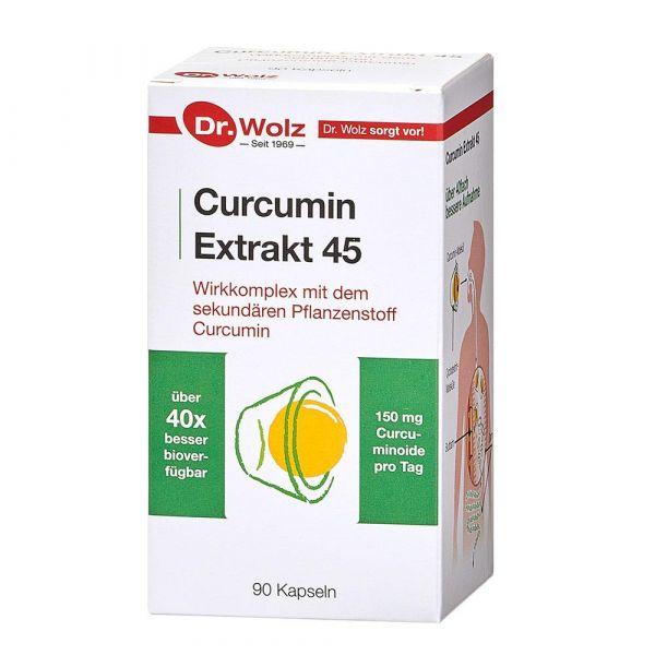 Dr. Wolz Curcumin Extrakt 45