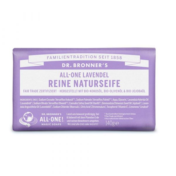 Dr. Bronners Barsoaps Lavendel