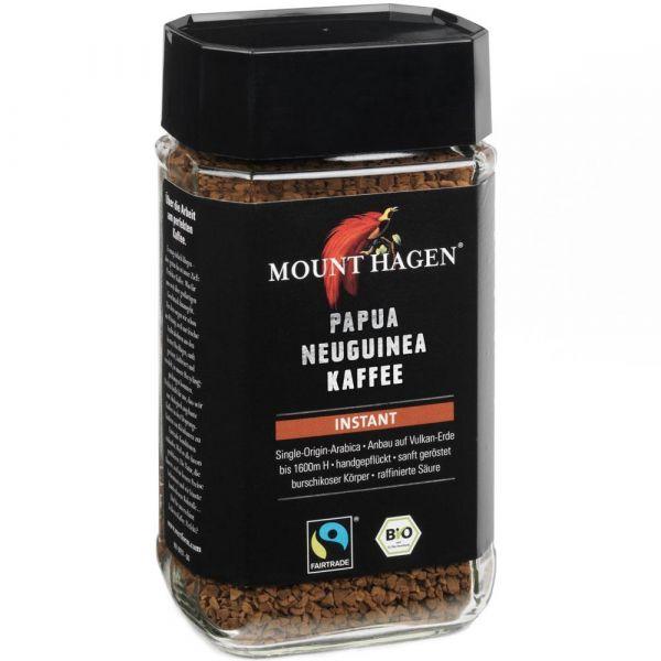 Mount Hagen Instant Kaffee Glas