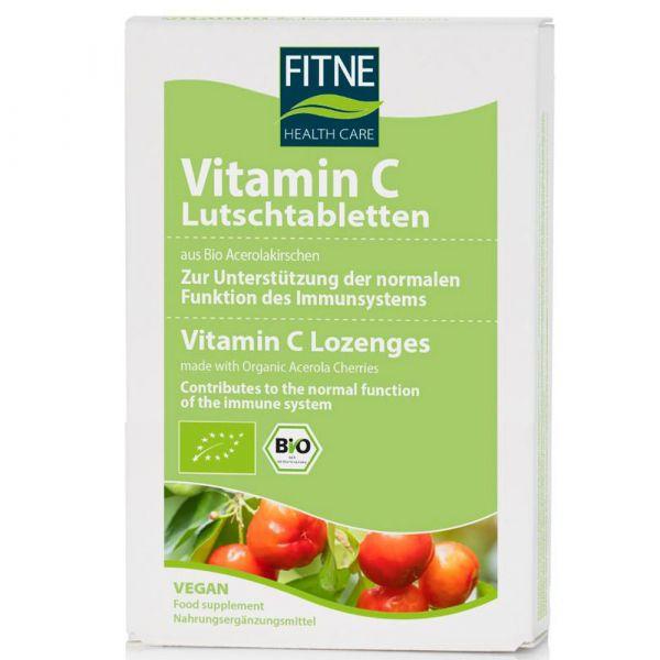 Fitne Vitamin C Lutschtabletten aus Bio-Acerolakirschen