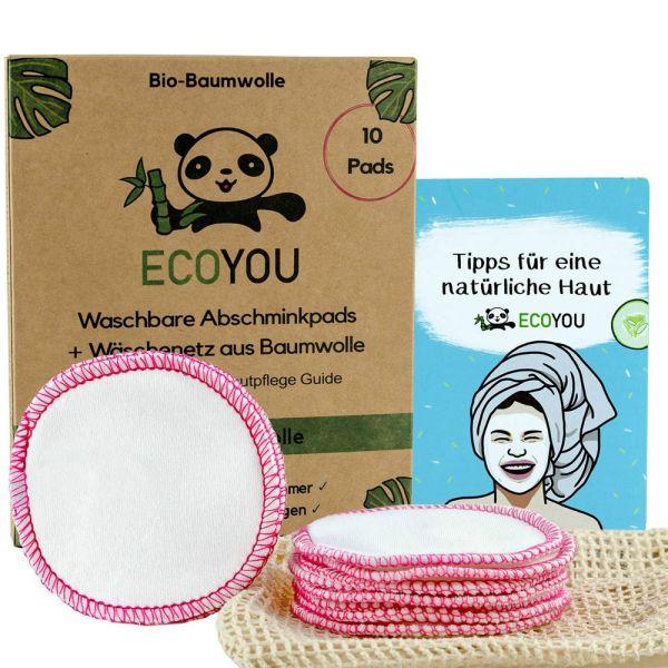 ECOYOU Abschminkpads ECOYOU Pink