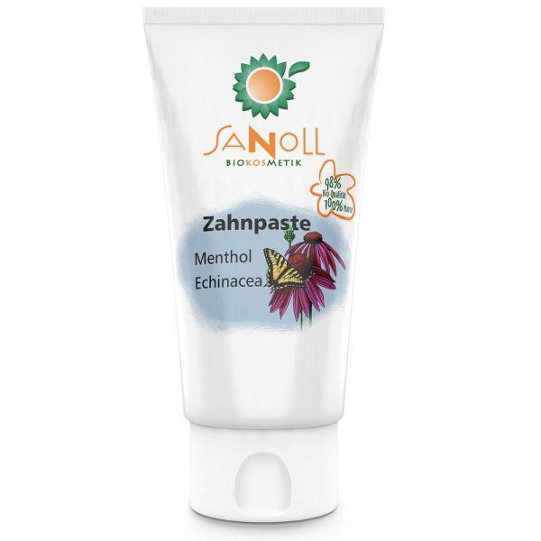 Sanoll Zahnpaste Menthol-Echinacea