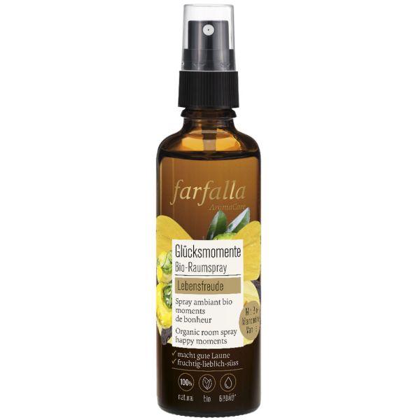 Farfalla Lebensfreude Vanille-Mandarine Glücksmomente Bio-Raumspray