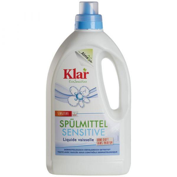 Klar Spülmittel sensitive ohne Duft 1,5 Liter
