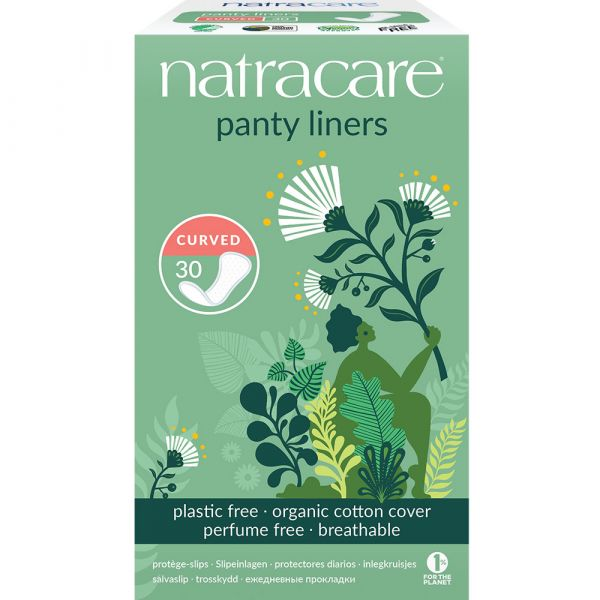 Natracare Panty liners Curved