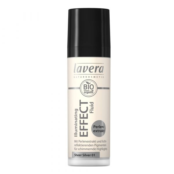 Lavera ILLUMINATING EFFECT FLUID Sheer Silver 01