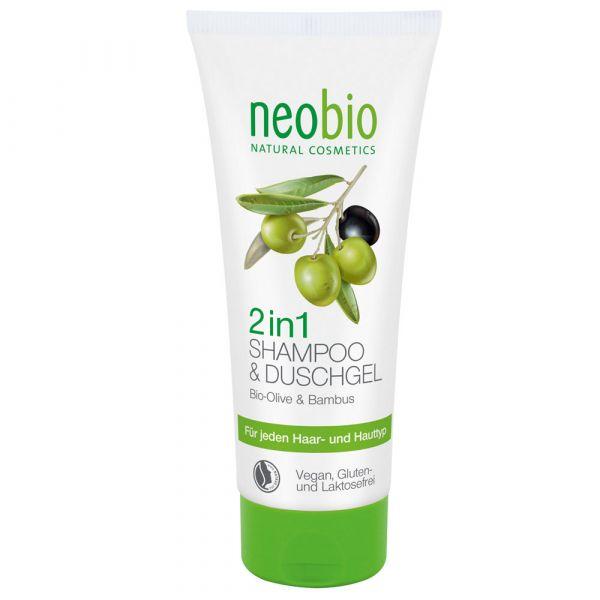 Neobio 2 in 1 Shampoo & Duschgel