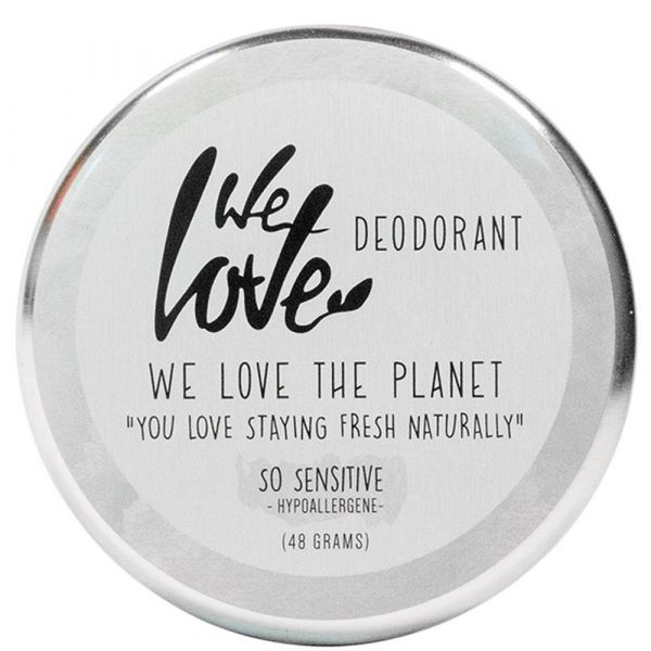We Love The Planet Natürliche Deocreme So Sensitive