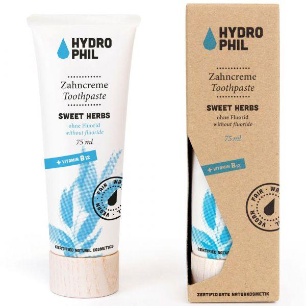 Hydrophil Zahncreme Sweet Herbs