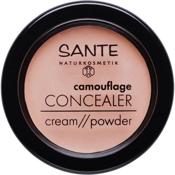 Sante camouflage CONCEALER cream powder 01 Beige