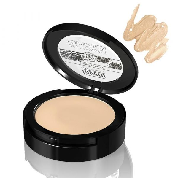 Lavera 2-in-1 Compact Foundation Ivory 01