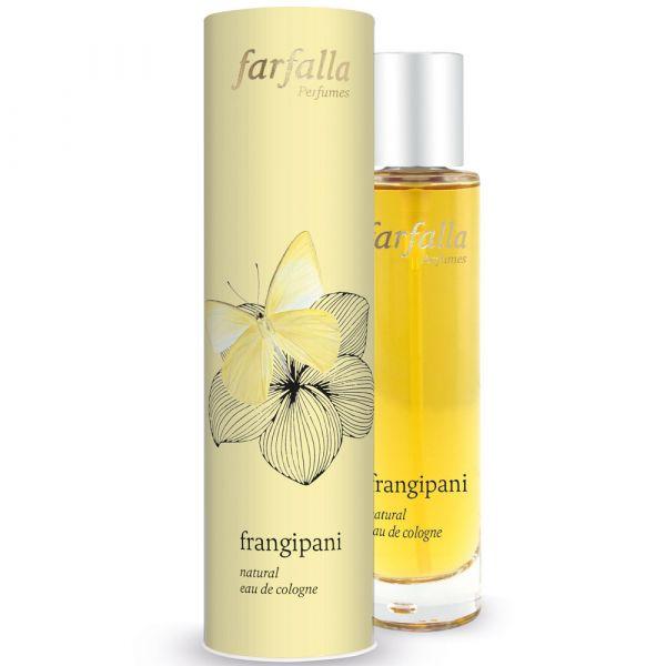 Farfalla frangipani natural eau de cologne