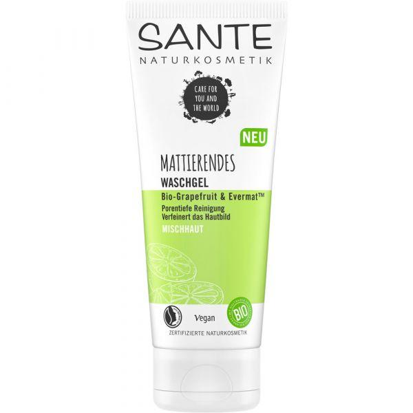 Sante Mattierendes Waschgel Bio-Grapefruit & EvermatTM