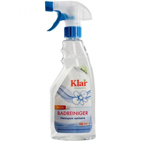 Klar Badreiniger mit Sprayer