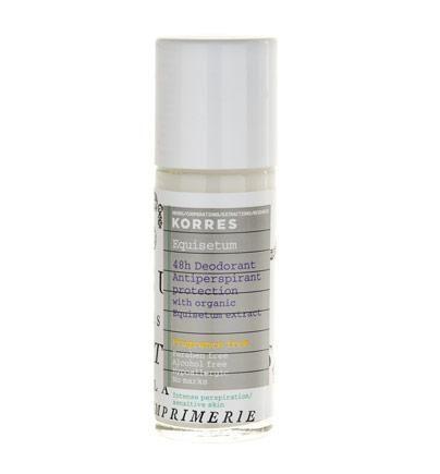 Korres 48h Anti-Perspirant Deodorant bei starker Perspiration und sensibler Haut Parfümfrei