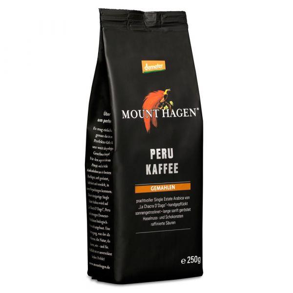 Mount Hagen Peru Kaffee gemahlen