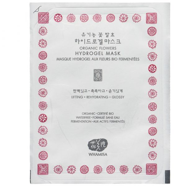 Whamisa Hydrogel Mask Flowers