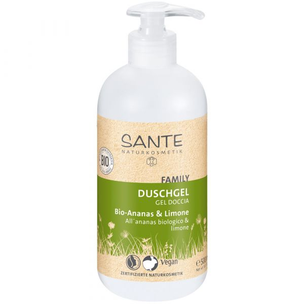 Sante Duschgel Bio-Ananas & Limone 500ml