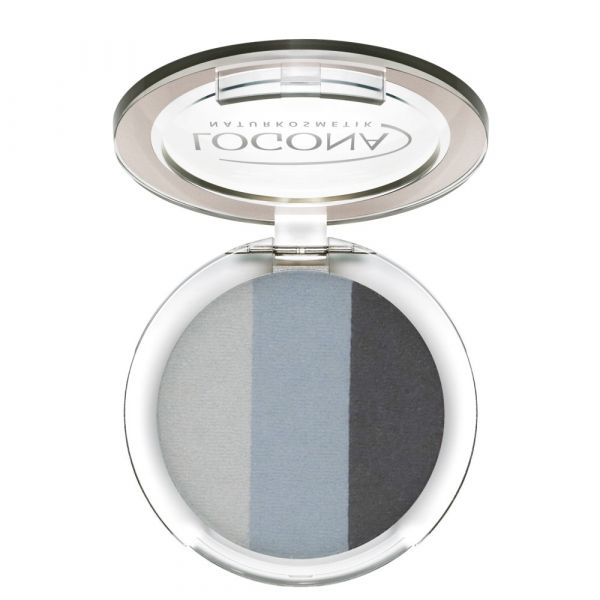 Logona Eyeshadow Trio  No.01 smokey