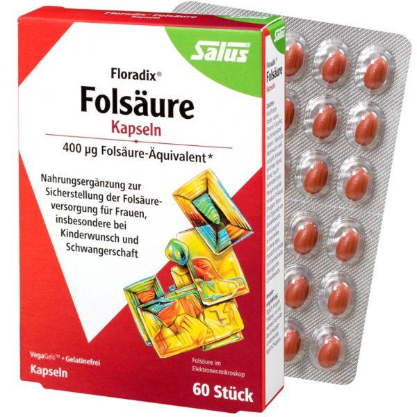 Salus Folsäure-Kapseln-VegaGels