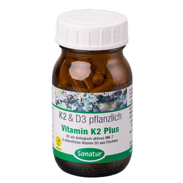 Sanatur Vitamin K2 Plus Vitamin D3