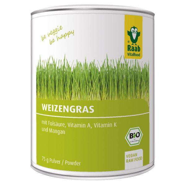 Raab Vitalfood Weizengras Pulver