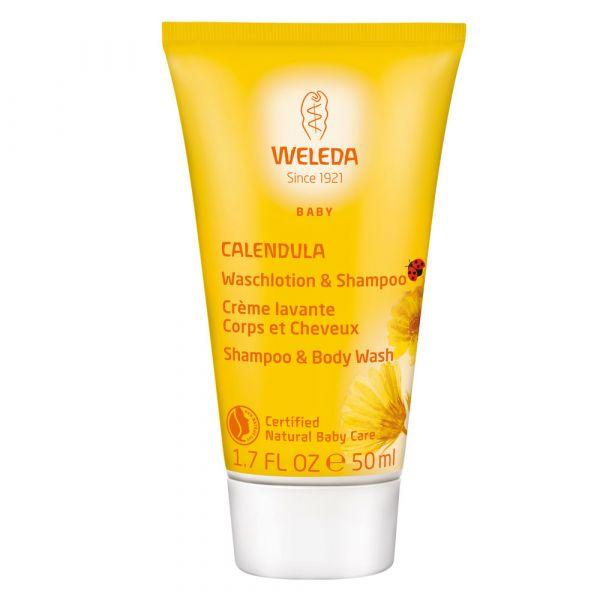 Weleda Calendula Waschlotion & Shampoo 50ml