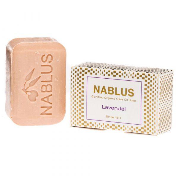 Nablus Olivenseife Lavendel