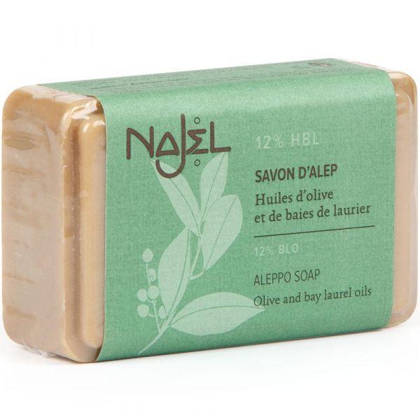 Najel Aleppo-Seife 12% Lorbeeröl 100g